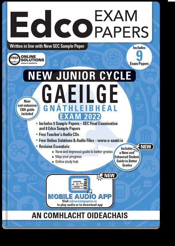 JC Irish Ordinary Level Exam Papers 2020
