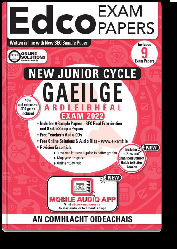 JC Irish Higher Level Exam Papers 2020