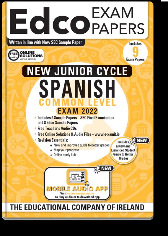JC Spanish Common Level Exam Papers 2020