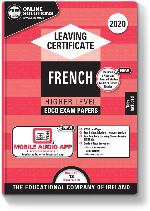 LC French Higher Level Exam Papers 2020