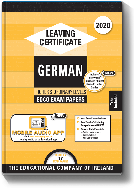 LC German Higher & Ordinary Level Exam Papers 2020