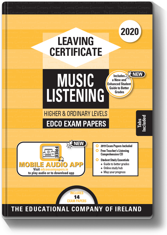 LC Music Listening Higher & Ordinary Level Exam Papers 2020