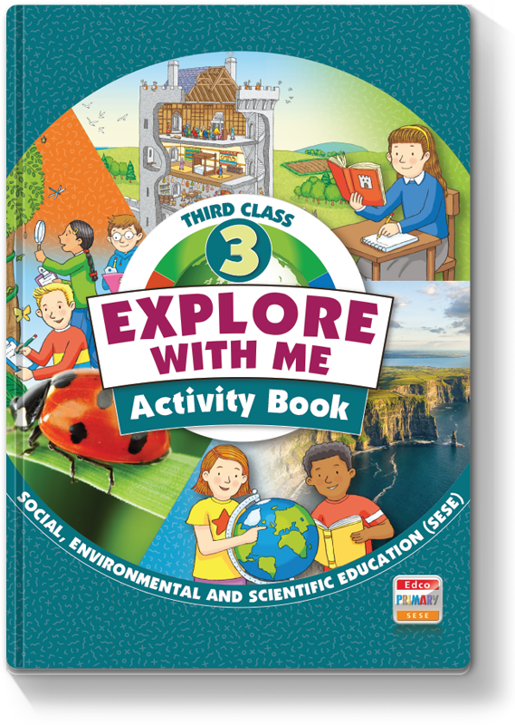 Explore with Me 3rd Class - Activity Book 2021