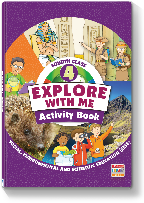 Explore With Me 4th Class - Activity Book 2021