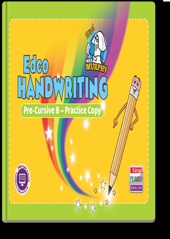Edco Handwriting Pre-Cursive B - Practice Copy 2021
