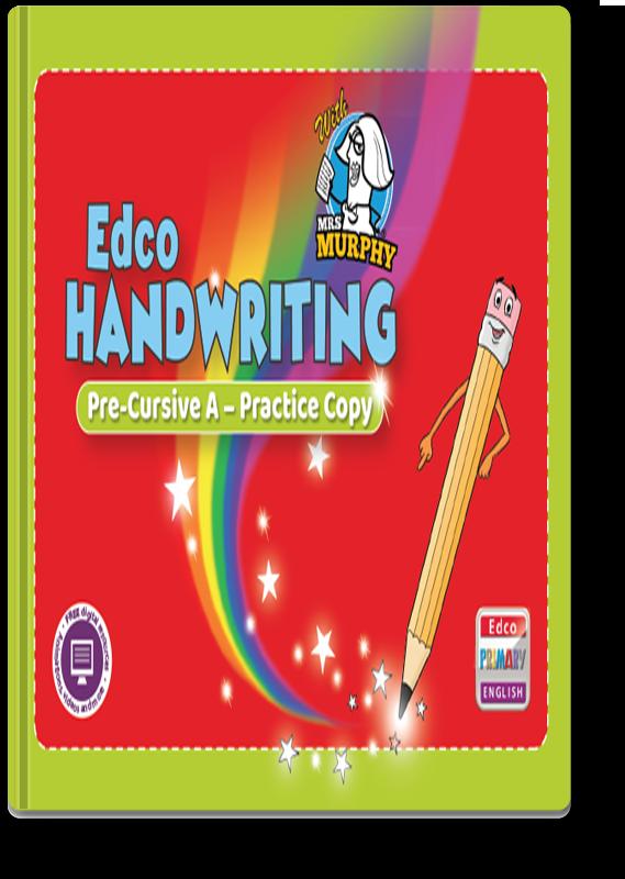 Edco Handwriting Pre-Cursive A - Practice Copy 2021