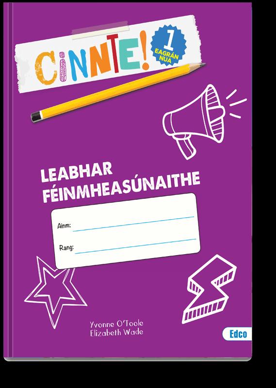 Cinnte! 1 Leabhar Féinmheasúnaithe 2019